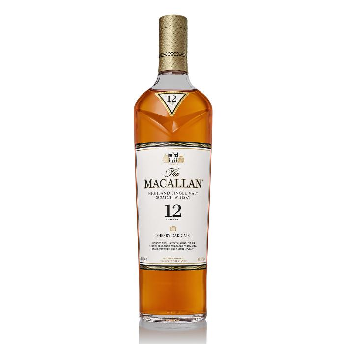 The Macallan 12 Year Old Sherry Oak Scotch The Macallan