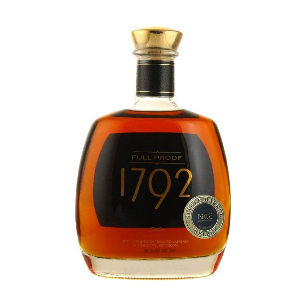"1792 Full Proof ""The Cure"" Sip Whiskey Selection Kentucky Straight Bourbon Whiskey 1792 Bourbon"