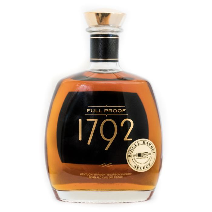 "1792 Full Proof Single Barrel Select ""The Collapsed Barrel"" Bourbon 1792 Bourbon"
