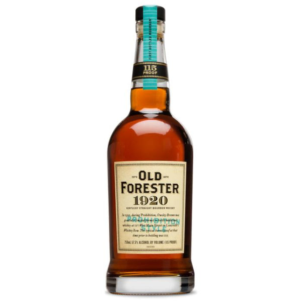 Old Forester 1920 Prohibition Style Bourbon Old Forester