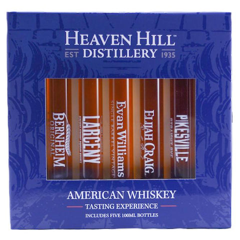 Heaven Hill Distillery American Whiskey Tasting Experience