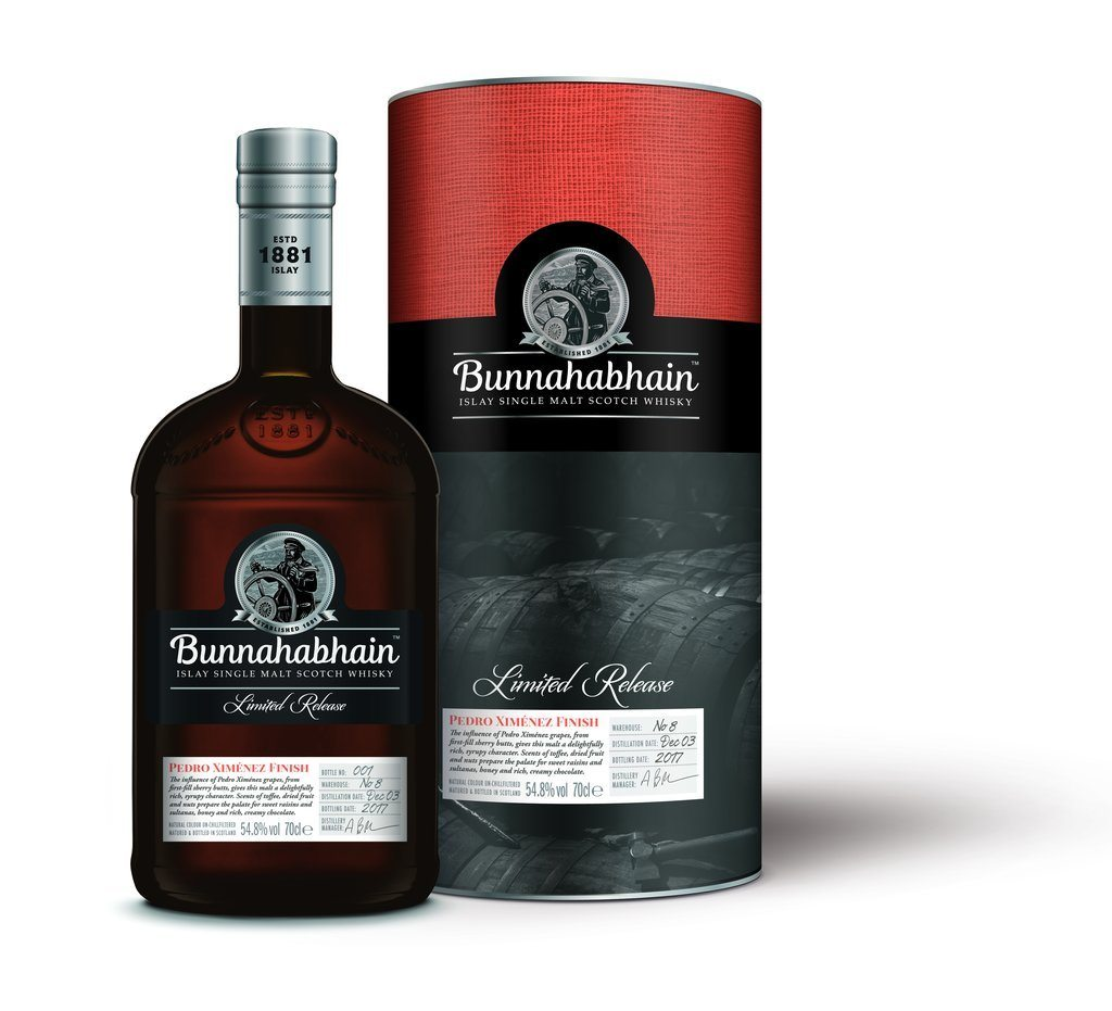 Bunnahabhain 2003 Pedro Ximénez Finish Limited Edition Scotch Bunnahabhain