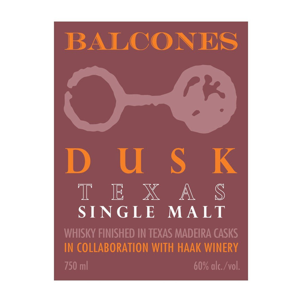 Balcones Dusk Single Malt Single Malt Scotch Whiskey Balcones