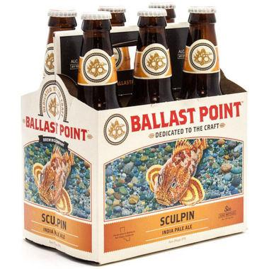 Ballast Point Sculpin IPA Beer Ballast Point