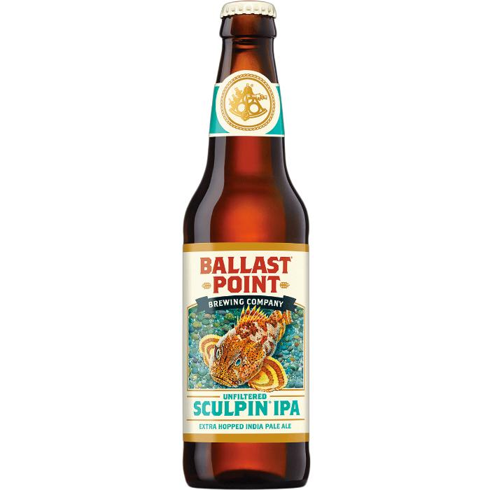 Ballast Point Unfiltered Sculpin IPA Beer Ballast Point