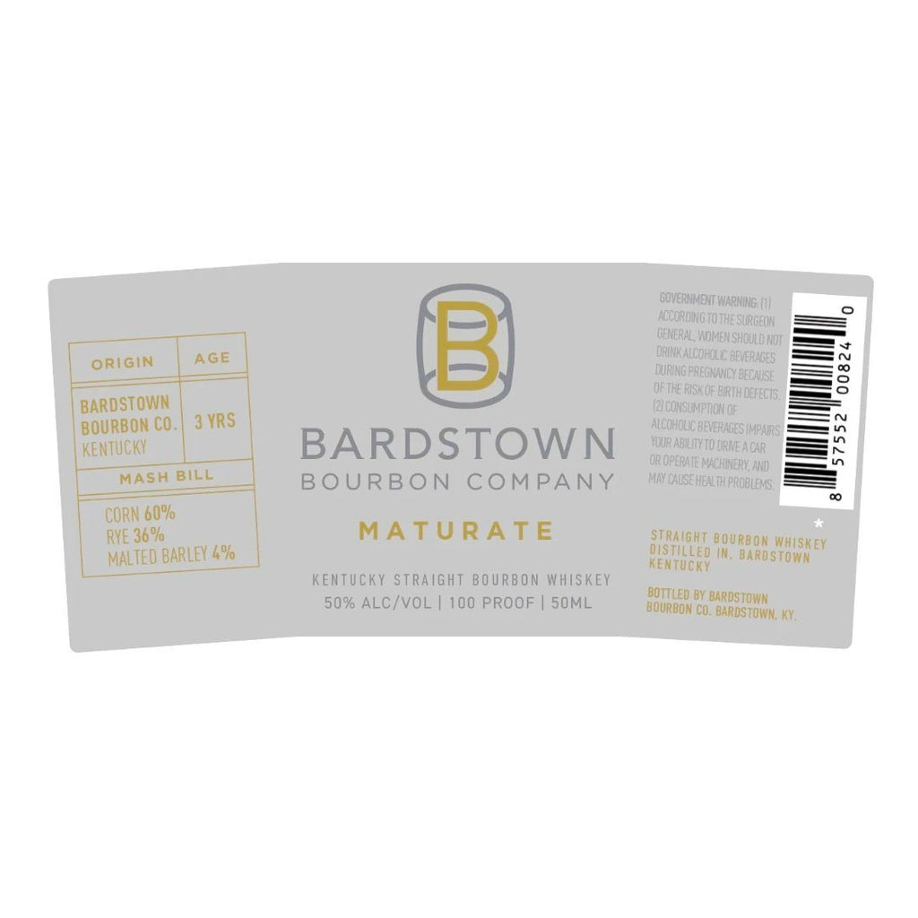 Bardstown Bourbon Company Maturate Kentucky Straight Bourbon Whiskey Bardstown Bourbon Company