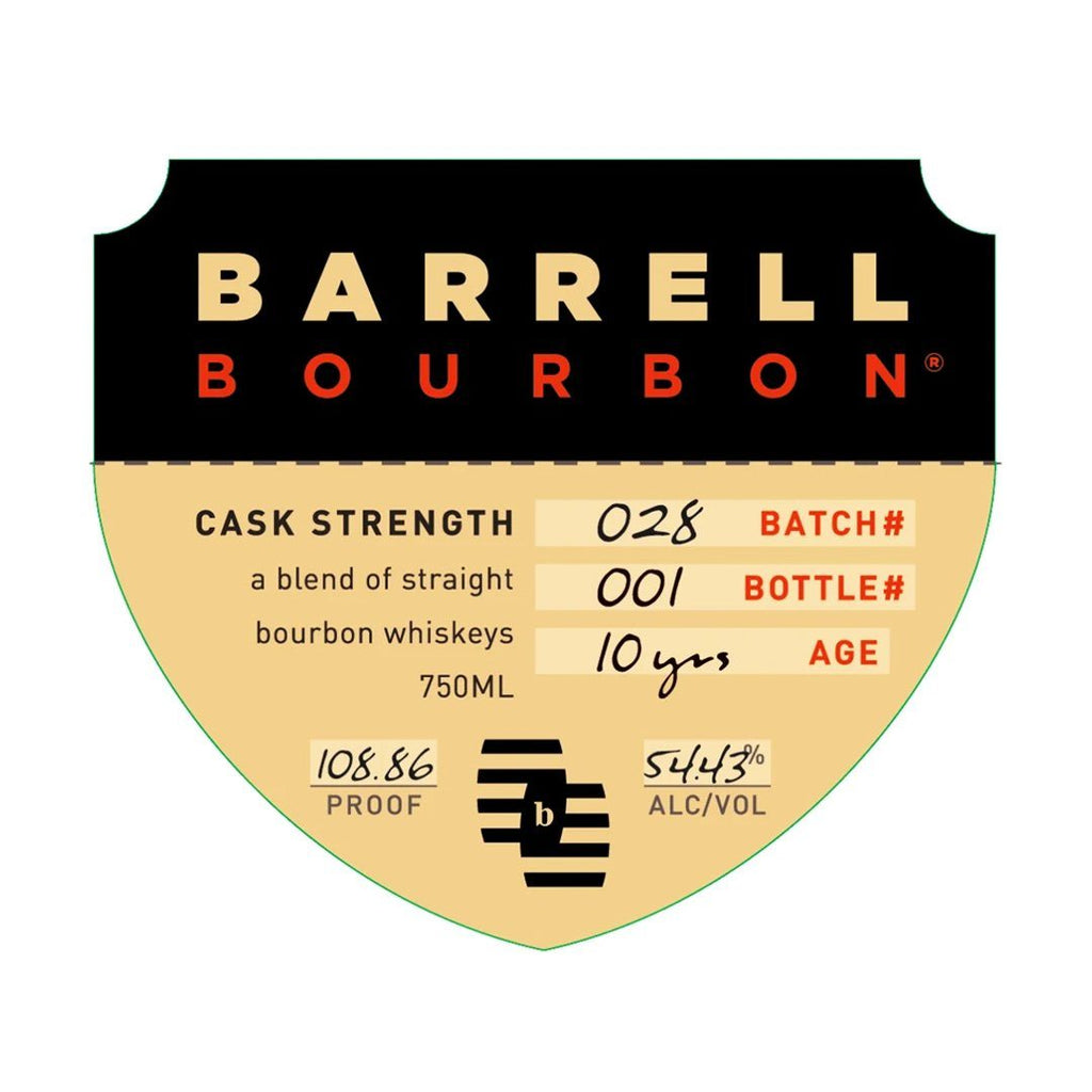 Barrell Bourbon Batch 28 Bourbon Whiskey Barrell Bourbon