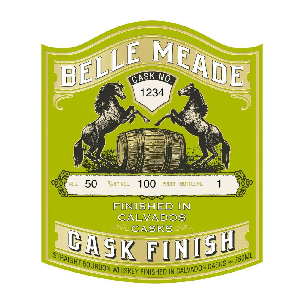 Belle Meade Calvados Cask Finish Straight Bourbon Whiskey Belle Meade Bourbon