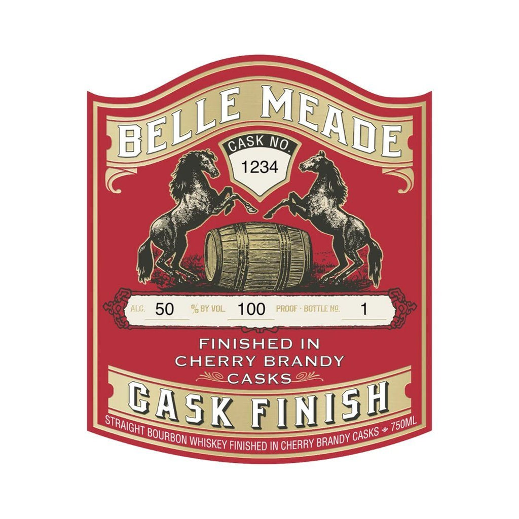 Belle Meade Cherry Brandy Cask Finish Straight Bourbon Whiskey Belle Meade Bourbon