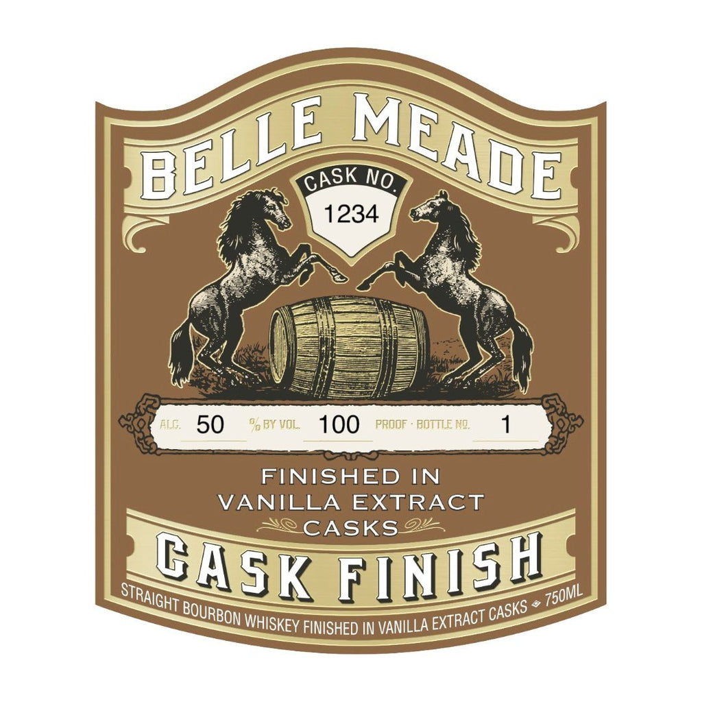 Belle Meade Vanilla Extract Cask Finish Straight Bourbon Whiskey Belle Meade Bourbon