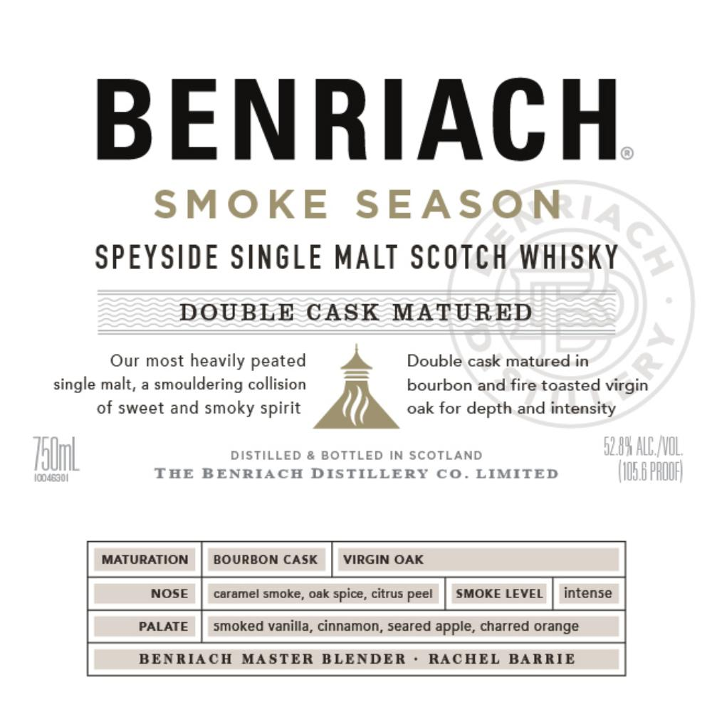 BenRiach Smoke Season Scotch BenRiach