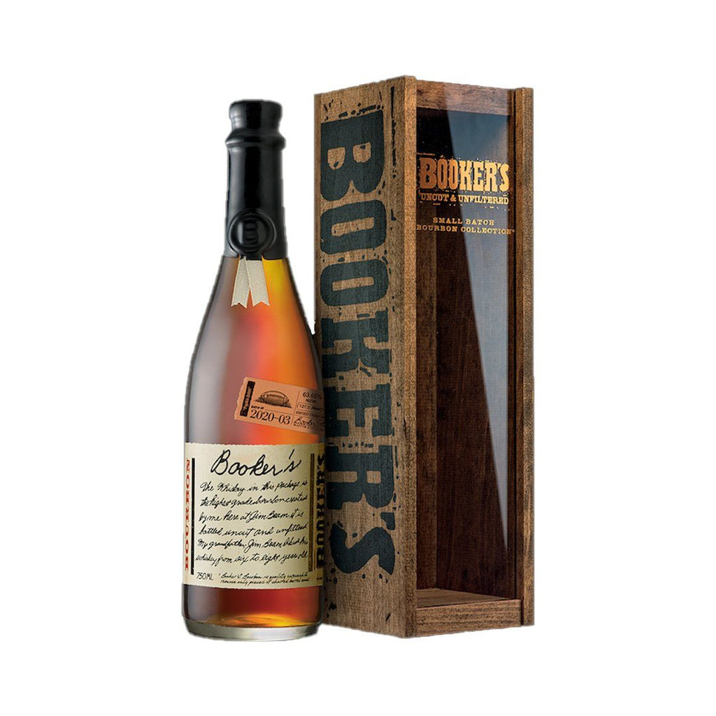 Bookers 2020-03 Pigskin Batch Bourbon Whiskey Booker's Bourbon