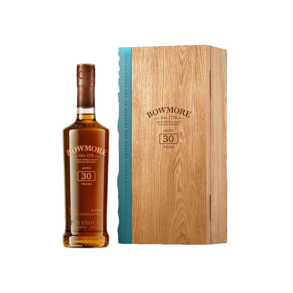 Bowmore 30 Year Old Single Malt Scotch Whiskey Bowmore