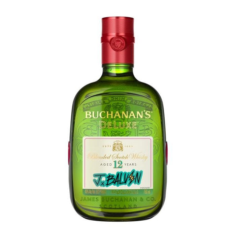 Buchanan's Deluxe J Balvin 12 Year Old