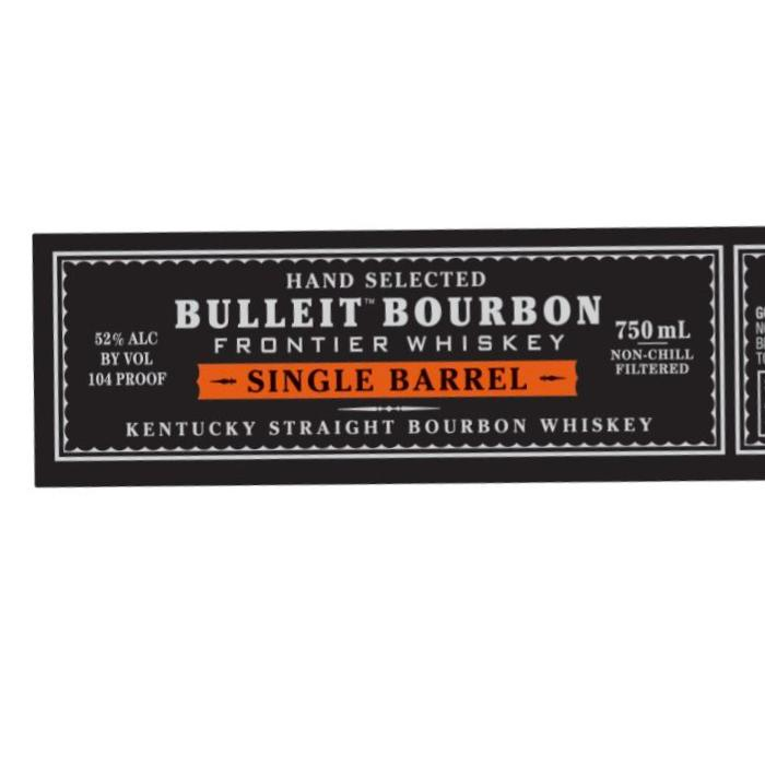 Bulleit Single Barrel Bourbon Bourbon Bulleit