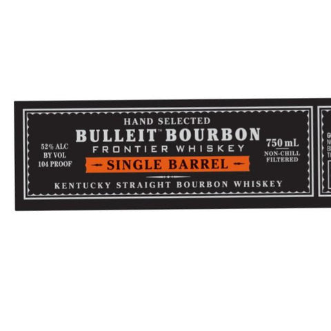 Bulleit Single Barrel Bourbon