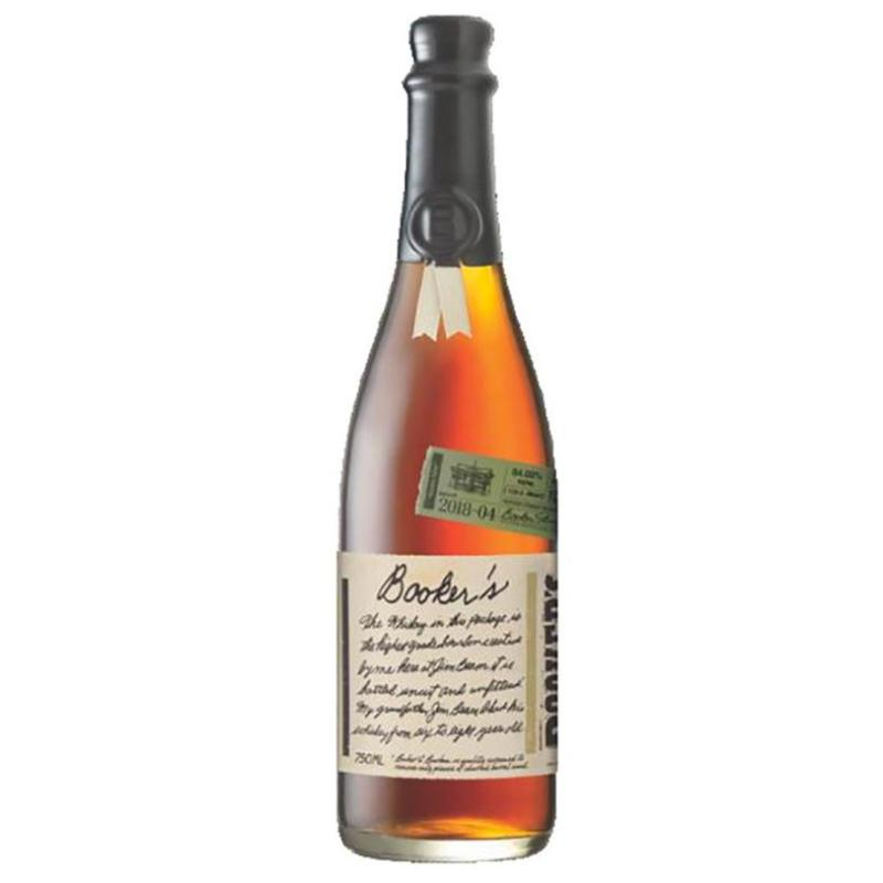 "Booker's Bourbon Batch 2018-04 ""Kitchen Table"" Bourbon Booker's"