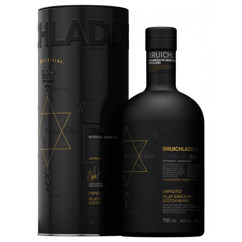 Bruichladdich Black Art 06.1 / Aged 26 Years Scotch Bruichladdich