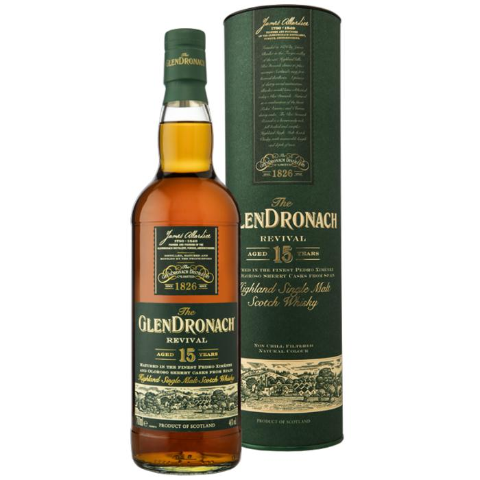 Glendronach Revival 15 Year Old Scotch Glendronach