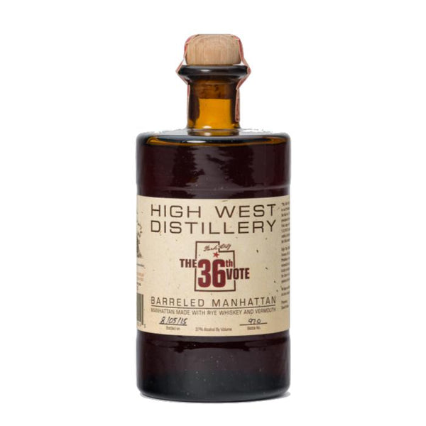 High West Distillery 36th Vote Barreled Manhattan American Whiskey High West Distillery