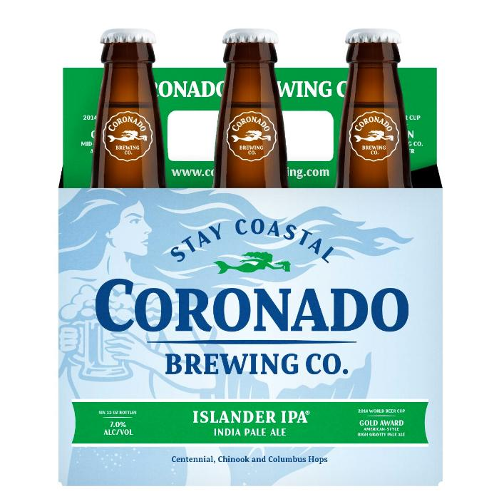 Coronado Brewing Islander IPA Beer Coronado Brewing