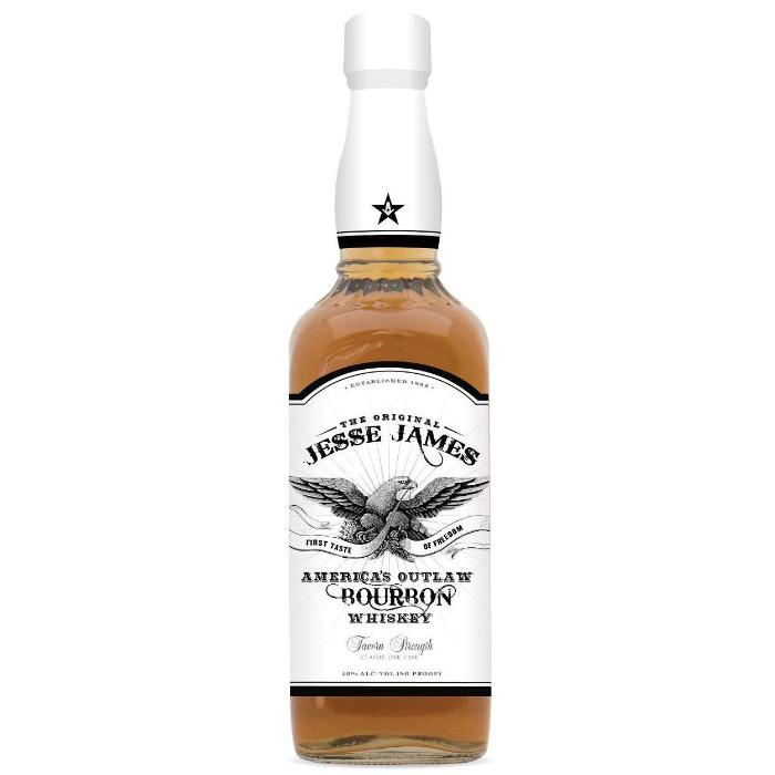 Jesse James America's Outlaw Bourbon Bourbon Jesse James Spirits