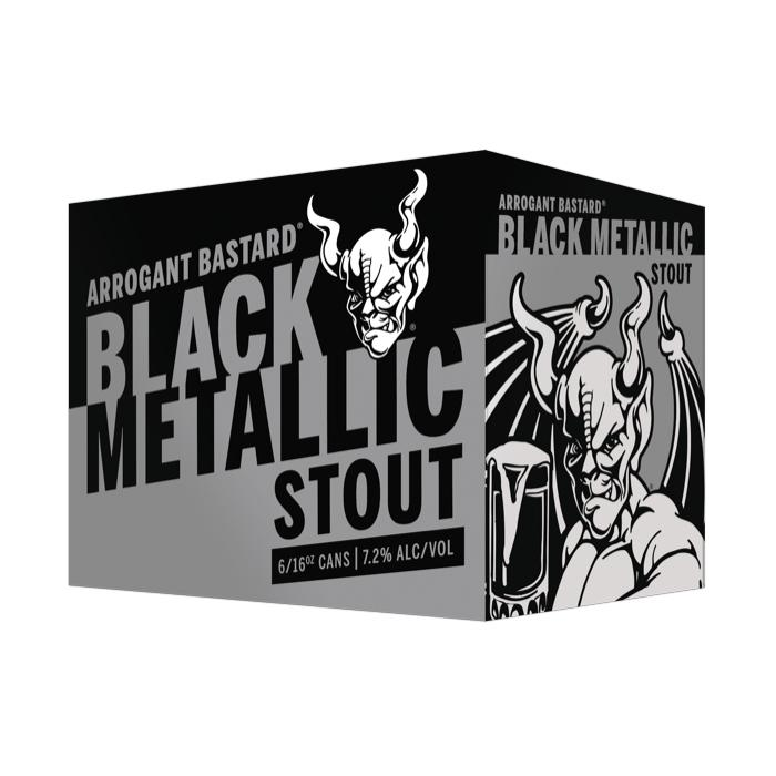Arrogant Bastard Black Metallic Stout Beer Stone Brewing Company