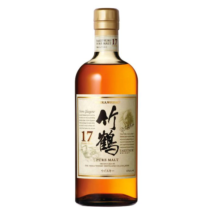 Nikka Taketsuru Pure Malt 17 Years Old Japanese Whisky Nikka