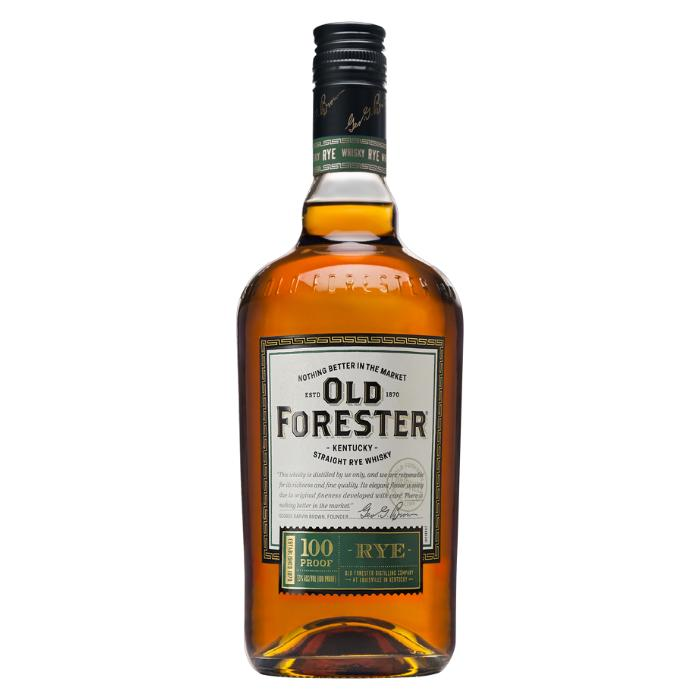 Old Forester Rye 100 Proof Rye Whiskey Old Forester