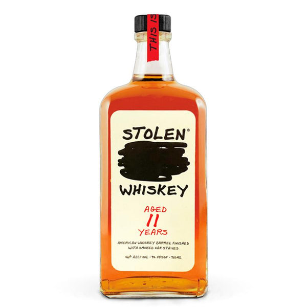 Stolen Whiskey 11 Year Old American Whiskey Stolen