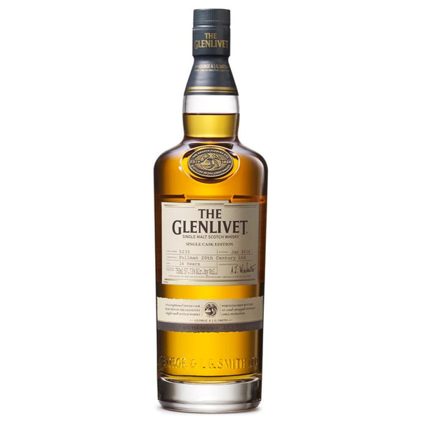 The Glenlivet Pullman 20th Century Limited Scotch The Glenlivet