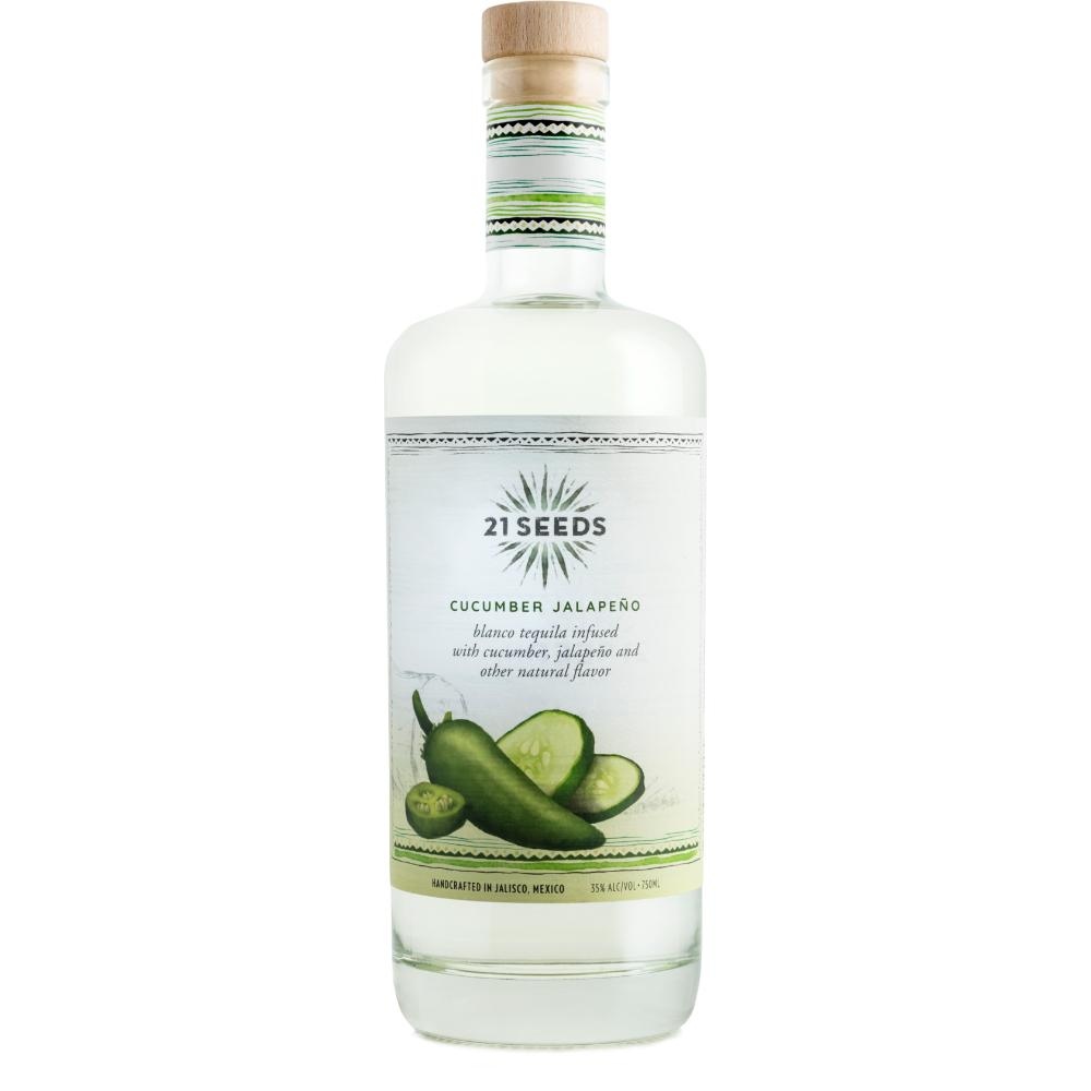 21 SEEDS Cucumber Jalapeño tequila Tequila 21 SEEDS
