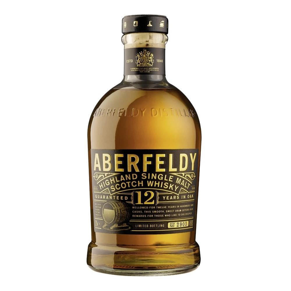 Aberfeldy 12 Year Old Scotch Aberfeldy