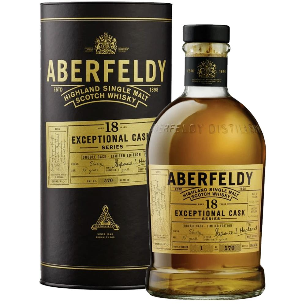 Aberfeldy 18 Year Old Exceptional Cask Series Scotch Aberfeldy