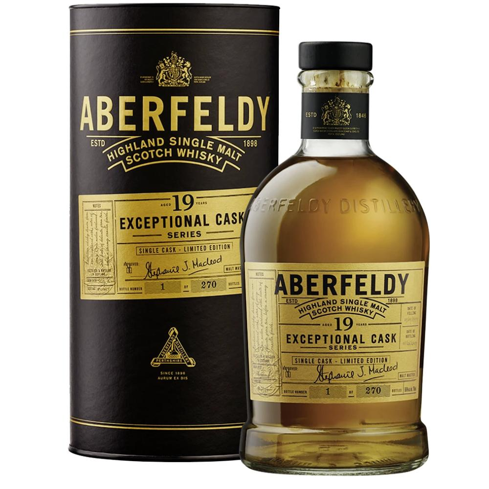 Aberfeldy 19 Year Old Exceptional Cask Series Scotch Aberfeldy