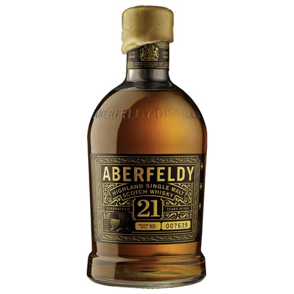 Aberfeldy 21 Year Old Scotch Scotch Aberfeldy