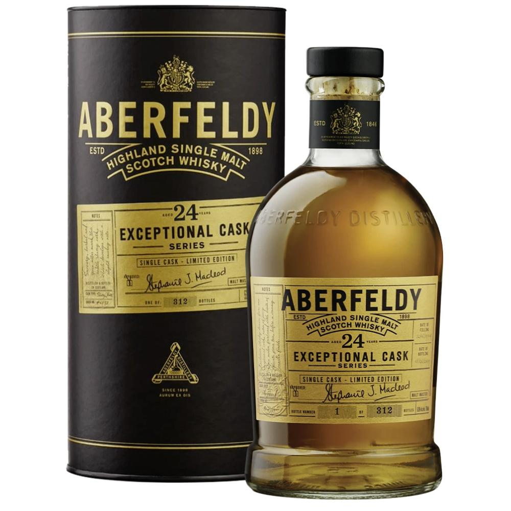 Aberfeldy 24 Year Old Exceptional Cask Series Scotch Aberfeldy