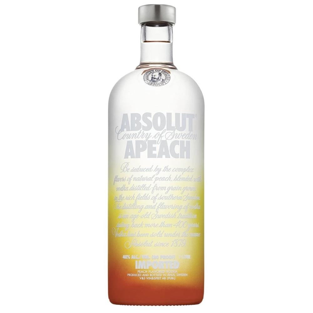 Absolut Apeach Vodka Vodka Absolut