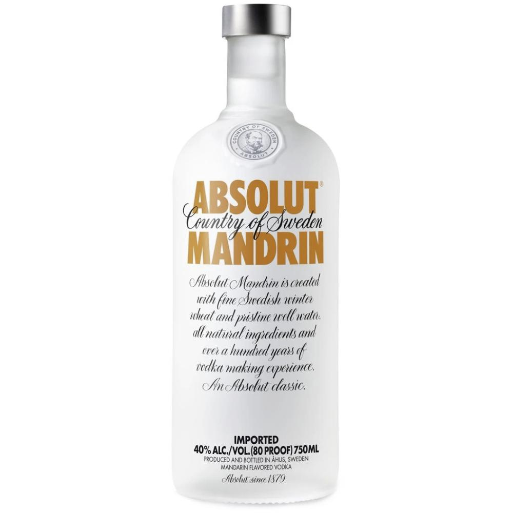 Absolut Mandrin Vodka Vodka Absolut