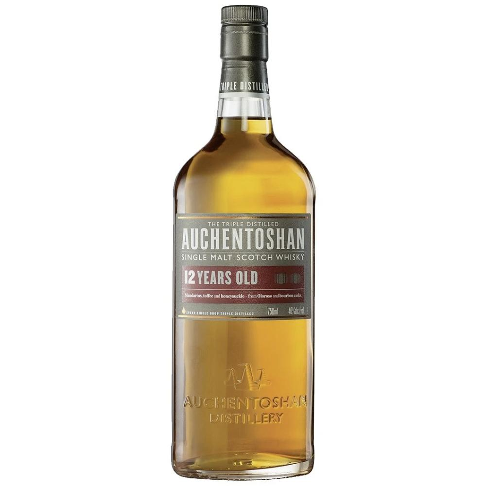 Auchentoshan 12 Year Lowland Single Malt Scotch Scotch Auchentoshan