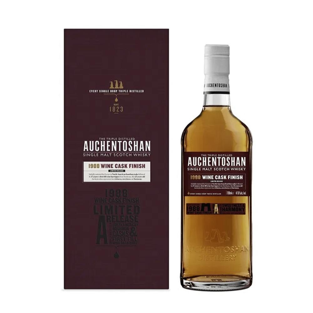 Auchentoshan 1988 Wine Cask Finish Scotch Auchentoshan