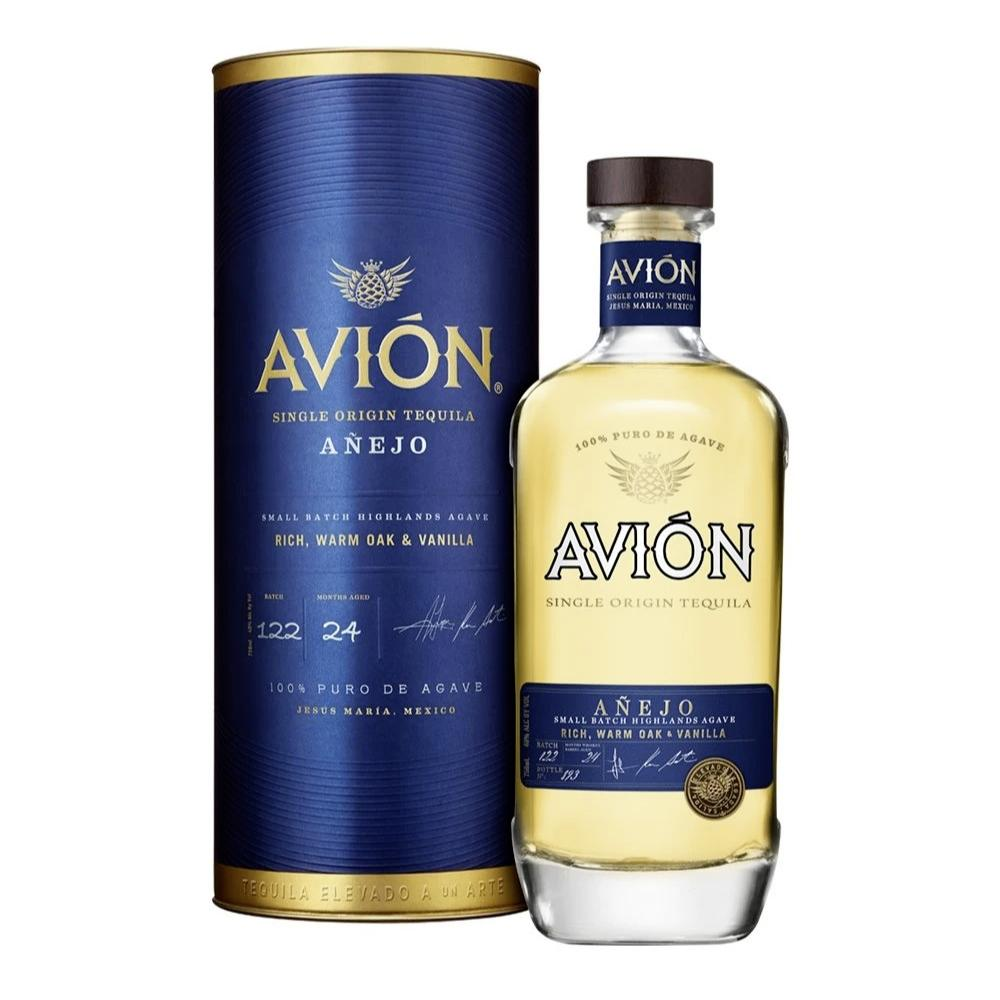 Avión Añejo with Canister Tequila Avión Tequila