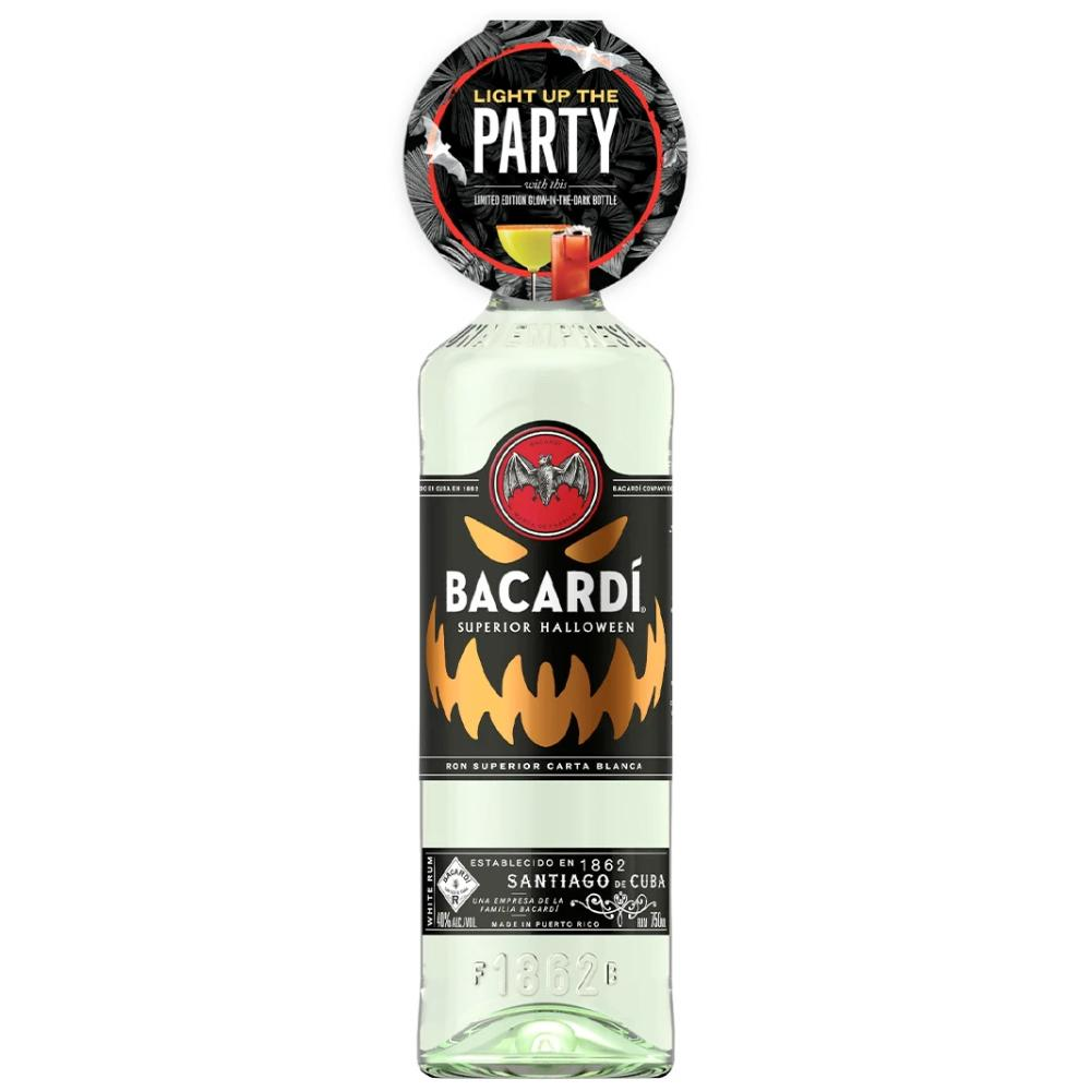 Bacardí Rum Halloween Glow-In-The-Dark Edition Rum Bacardi