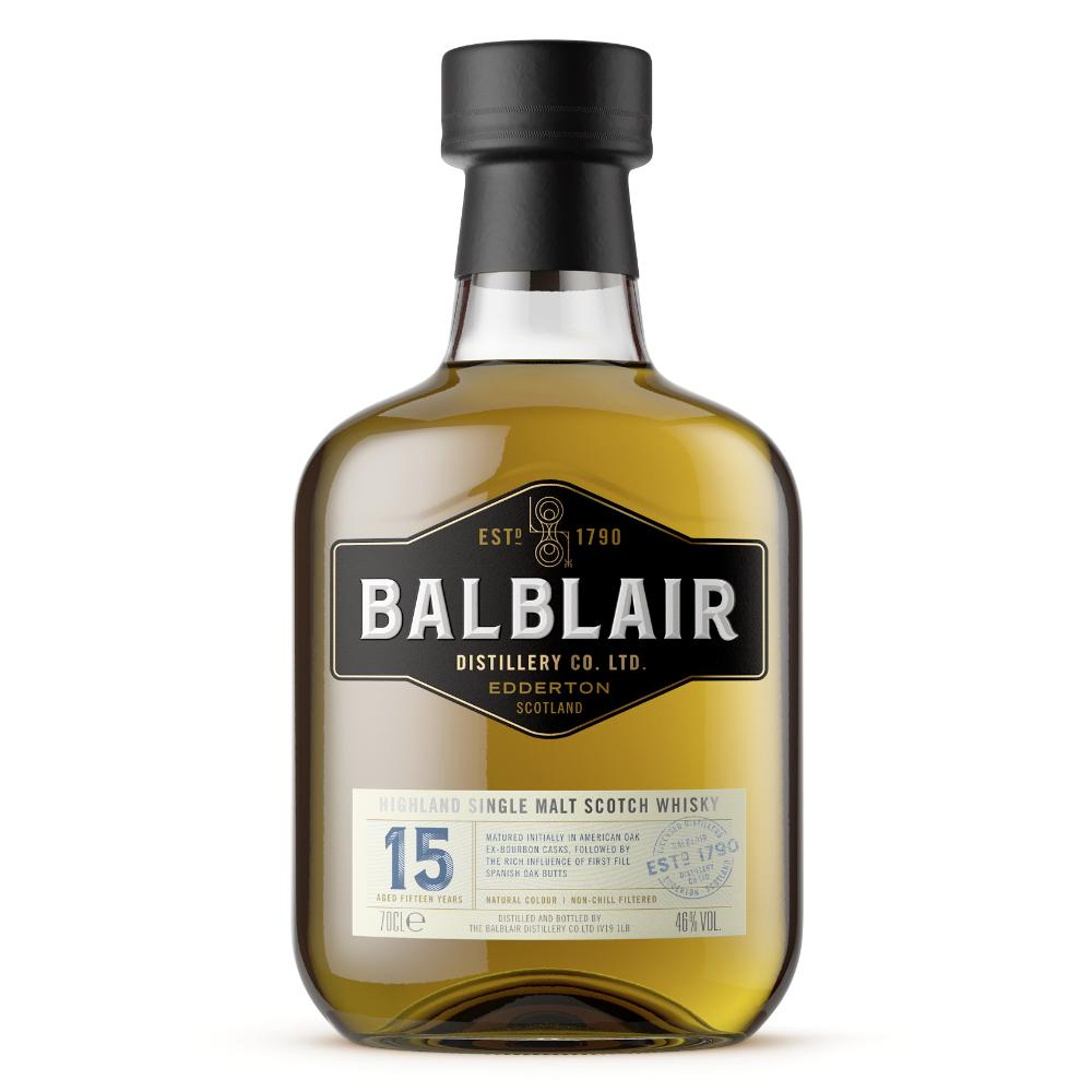 Balblair 15 Year Old Scotch Balblair Distillery