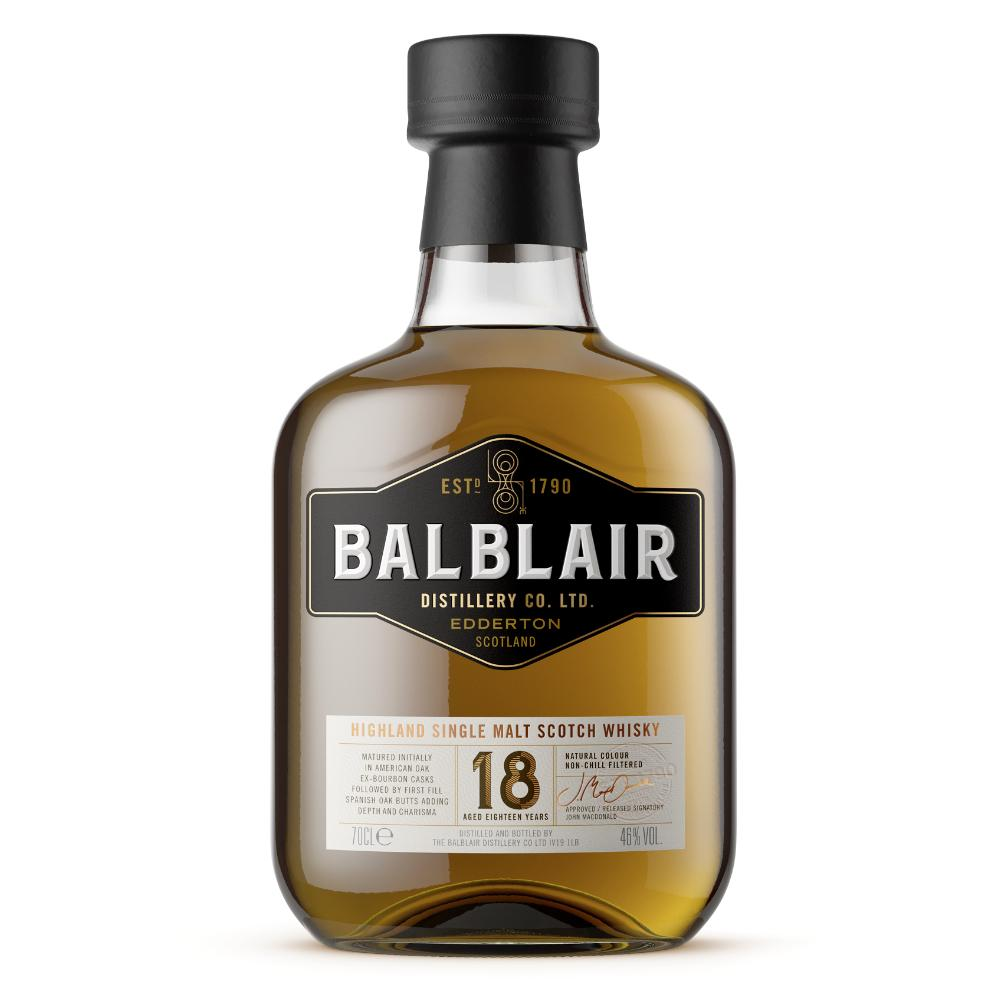 Balblair 18 Year Old Scotch Balblair Distillery