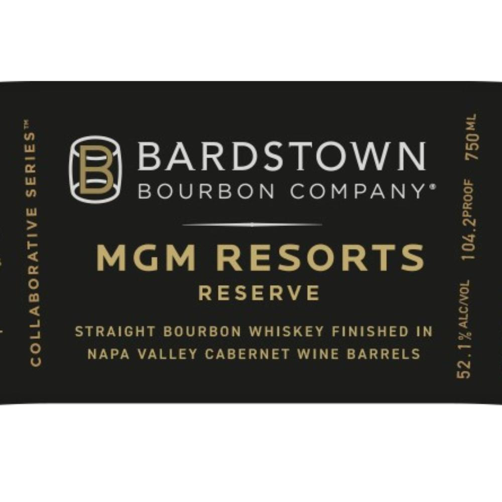 Bardstown Bourbon MGM Resorts Reserve Bourbon Bardstown Bourbon Company
