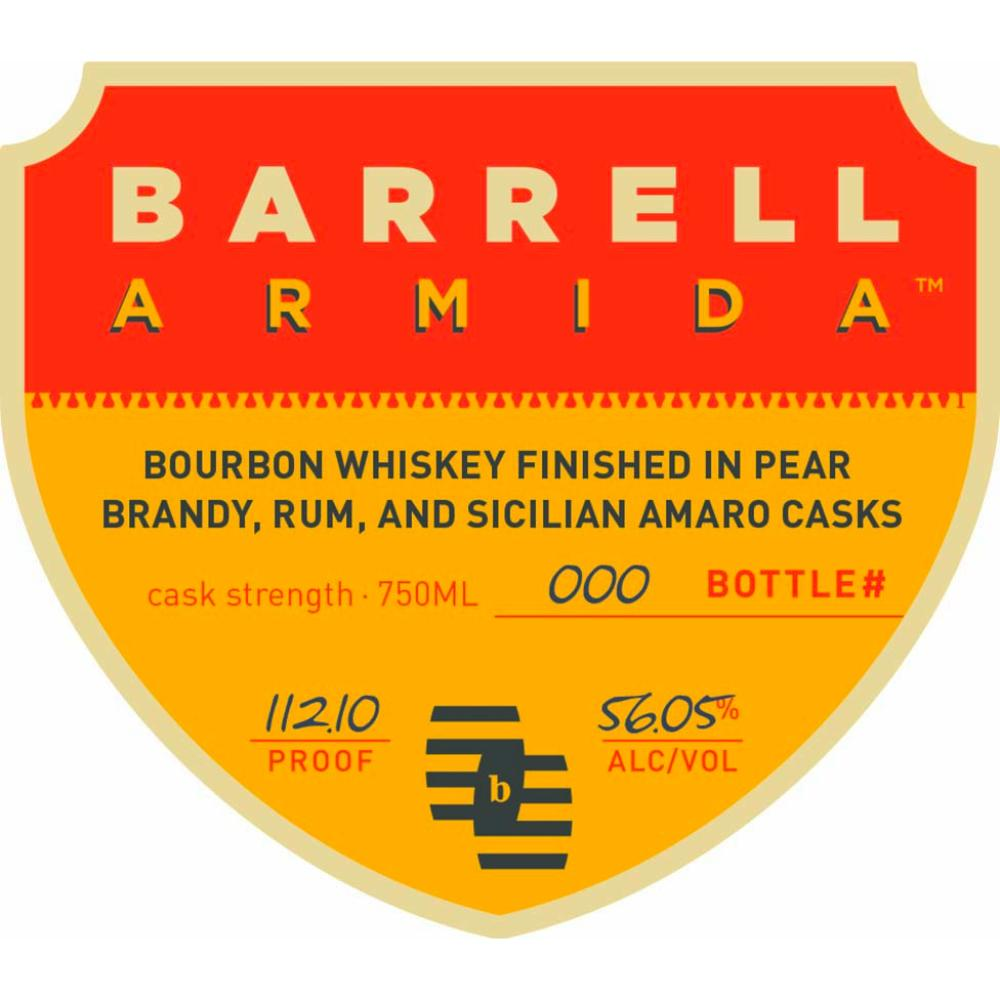Barrell Armida Bourbon Whiskey Bourbon Barrell Craft Spirits