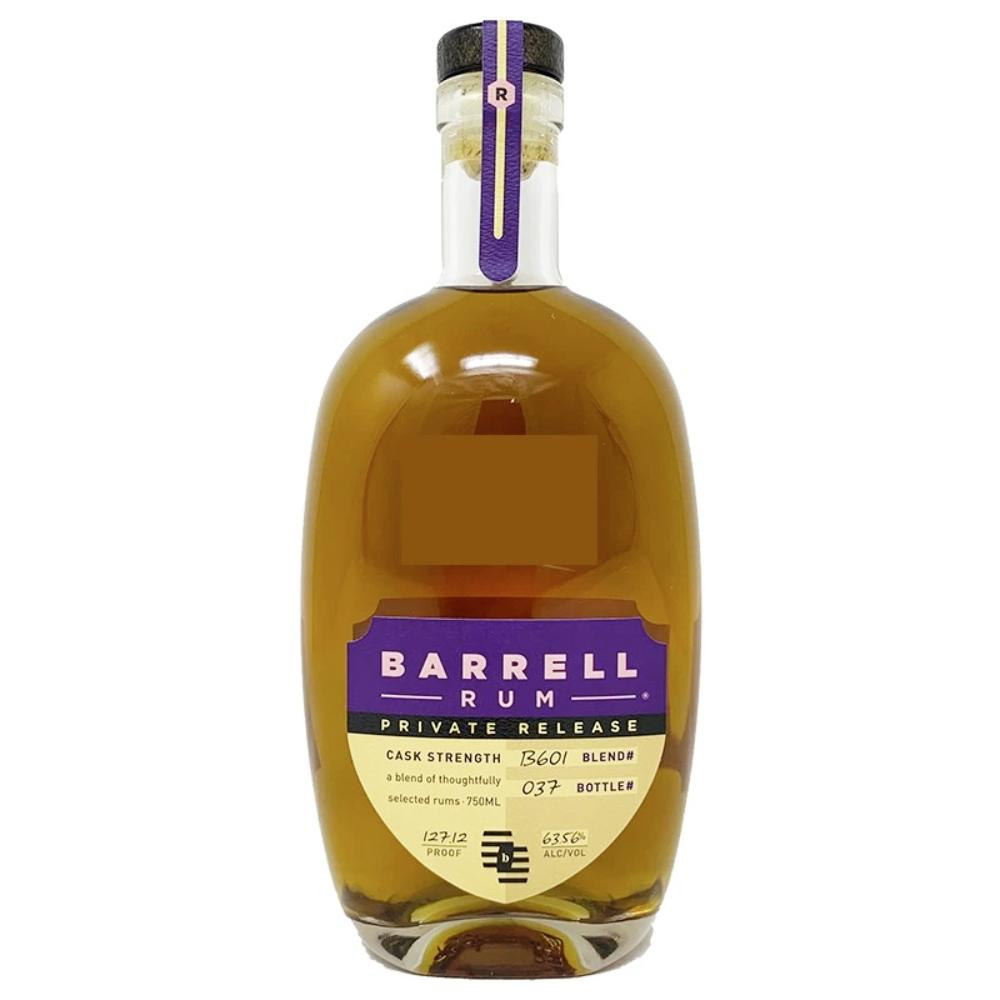Barrell Rum Private Release Cask Strength Rum Barrell Craft Spirits
