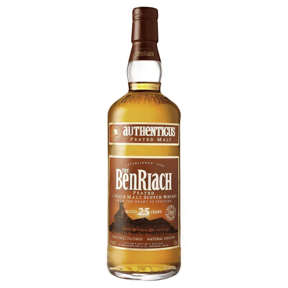 BenRiach Authenticus 25 Year Old Scotch BenRiach