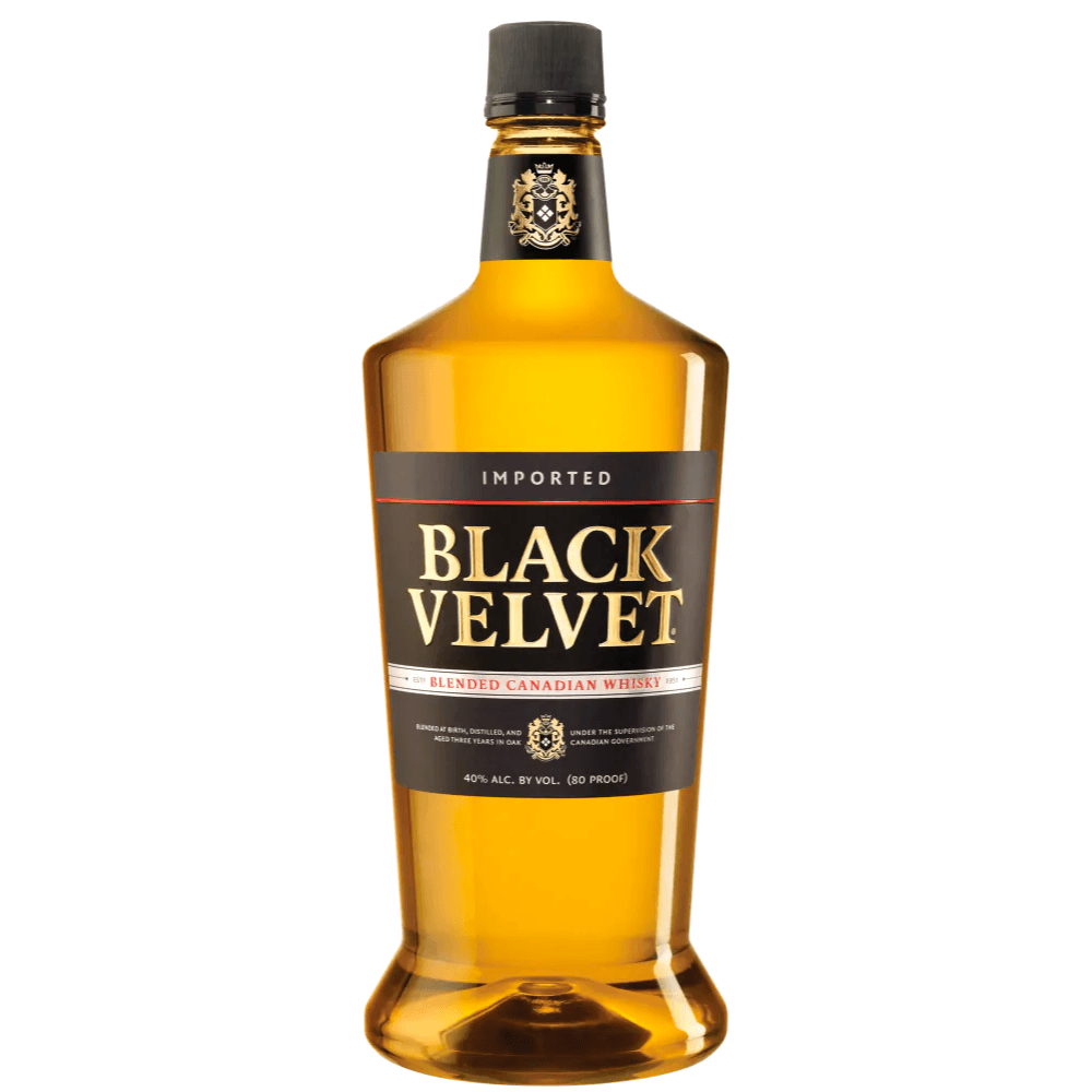 Black Velvet 1.75 Liter Canadian Whisky Black Velvet